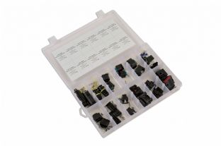 Connect 37410 24 Piece Assorted BMW / Mercedes Electrical Connector Kit